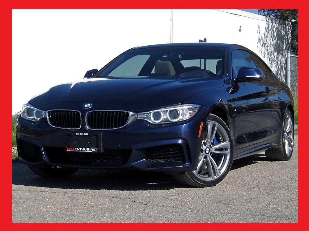 BMW I XDRIVE MPERFORMANCEBMW WARR OR KM - 2014 bmw 435i m sport